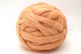 Tyrolian wool top, white, code TSD10, 100 g