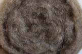 Austrian Tirol mountain carded wool, natural squirrel color, code KN22, 100 g