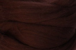 Wool top 26-28 µm, rust, code S36, 100 g