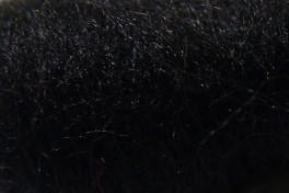 Australian Merino tops 20,5 µm, black, code AMS149, 100 g