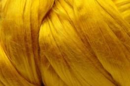 Mulberry šilko gijos, saulės geltona, kodas DMS105, 5 g