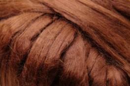 Mulberry šilko gijos, tamsiai rudos, kodas DMS120, 5 g