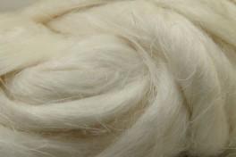 Lino gijos, baltos, kodas DLG301, 20 g