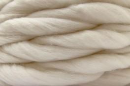 Australian Merino tops 20,5 µm, white, code AMS100, 100 g