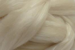 Australijos Merino sluoksna su Mulberry šilku, balta, kodas MTMS10, 100 g