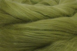 Australian Merino with Mulberry silk top, green apple, code MTMS14, 100 g