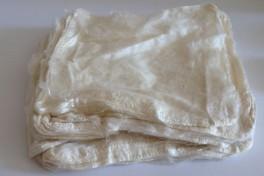 Mulberry šilko servetėlės, baltos, kodas DSH100, 20 g
